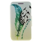 Protective Full Body Case with Stand / Card Slots - Green + White