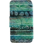SZKINSTON® Totems Pattern PU Leather Case for iPhone 6 / 6S - Green