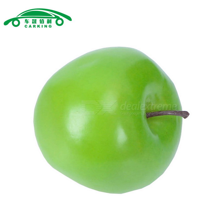 Carking artificial fruit decoration apple green free for Artificial pears decoration