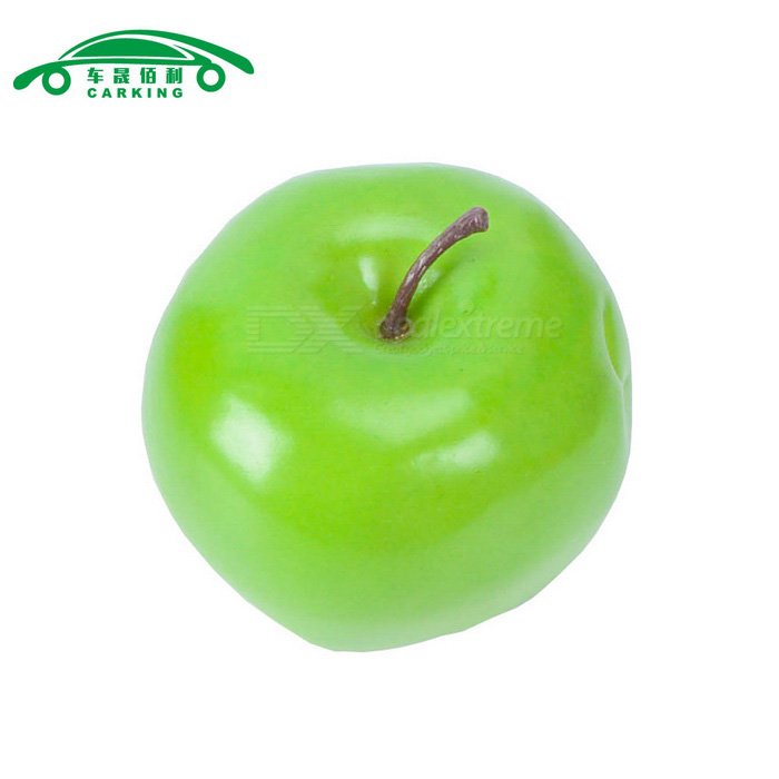 Carking artificial fruit decoration apple green free for Apple fruit decoration