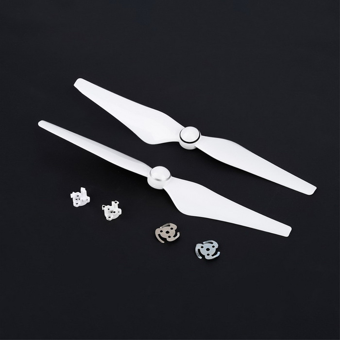 9450 Props Propellers CCW CW for DJI Phantom 4 - White (Pair)