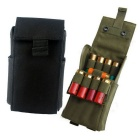 Portable Quick-using Tactical 25 Round Cartridge Ammo Pouch Reload Bag for Shotgun / Rifles