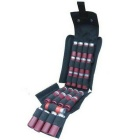 Field Hunting Rifle Bullets Storage 25-Slot Bag - Black