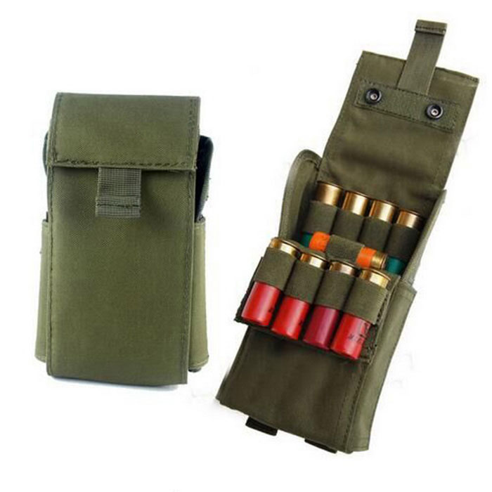 Field Hunting Rifle Bullets Storage 25-Slot Bag - Army Green