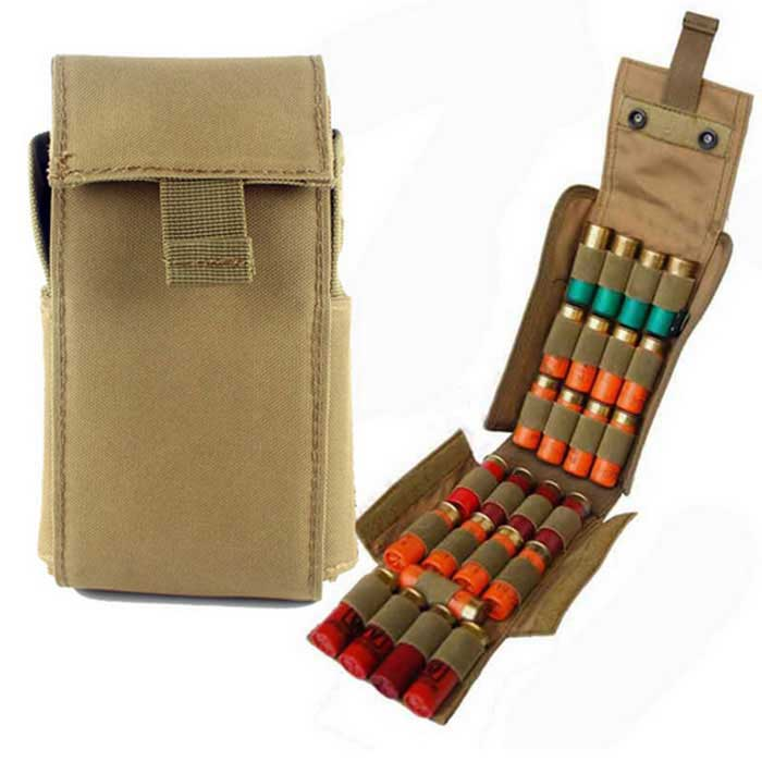 Campo Hunting Rifle Balas de armazenamento 25-Slot Bag - Mud Cor