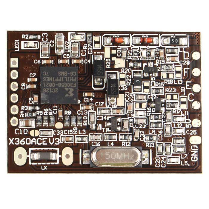 X360 ACE V3 With 150MHz Crystal Oscillator Board - Coffee