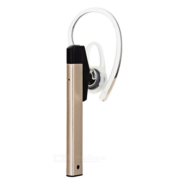 SUR Metal Wireless Ear-hook Sports Bluetooth Earphone - Gold