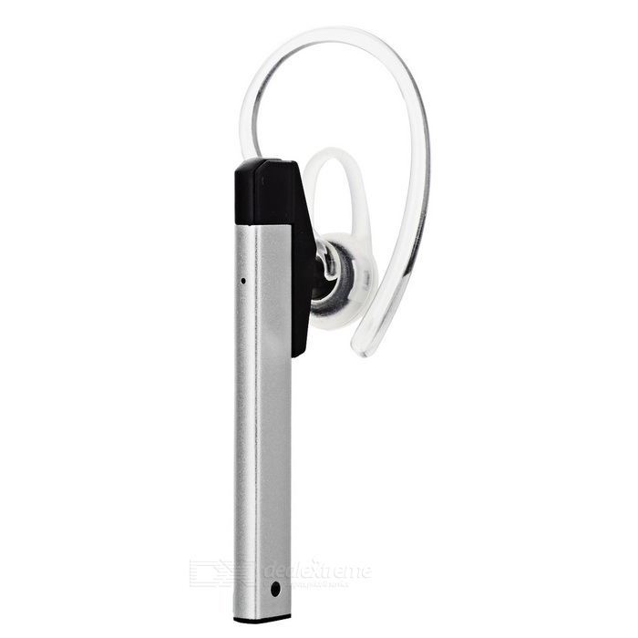 SUR Metal Wireless Ear-hook Sports Bluetooth Earphone - Silver