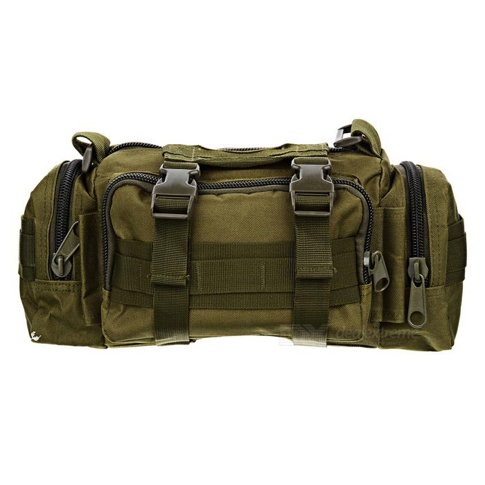 CTSmart BL014 Outdoor Multifunctional Hand Bag w/ Straps - Army Green