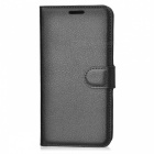 Retro Style Flip-Open PU Case for HUAWEI Honor 5C - Black