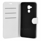 Retro Style Flip-Open PU Case for HUAWEI Honor 5C - White