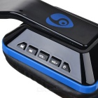 OVLENG Folding Stereo Bluetooth Headset - Black + Blue
