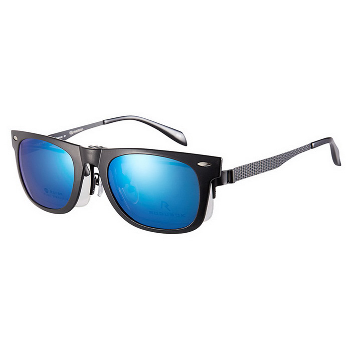 Reedoon 2140 Clip-on Protection Sunglasses Glasses Clip - Black + Blue