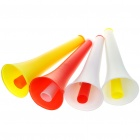 Small Retractable Plastic Horn - Color Assorted (5-Pack)