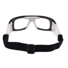 SCREW 3502C1 Basketball Glasses Goggles - Transparent + Black