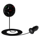 Bluetooth V3.0 Car MP3 player Transmissor FM - Preto