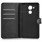 Lichee Pattern Protective Full Body Case for Huawei Mate 8 - Black