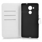 Lichee Pattern Protective Full Body Case for Huawei Mate 8 - White