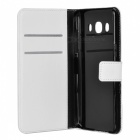 Lichee Pattern Protective Case for Samsung J510 / J5(2016) - White