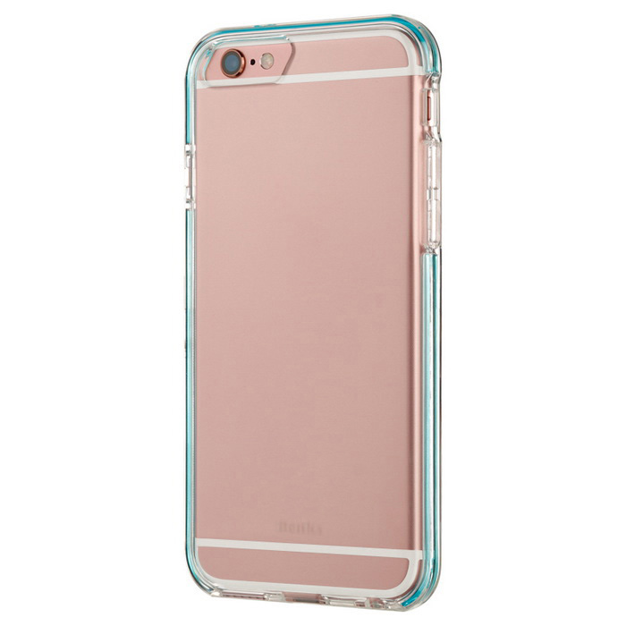 Caso Benks flash TPU para IPHONE 6 Plus / 6S Plus - Azul Transparente