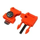 4-in-1 Outdoor Survival Equipment Multitool - Orange + Black