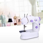 Mini ménages Sewing machine électrique - blanc + violet
