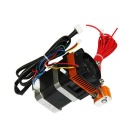 3D Printer New MK8 Extruder w/ 1.75mm Filament 0.5mm Nozzle - Black