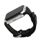 GD19 Bluetooth Smart Watch w/ Camera Screen for Android iOS - Black