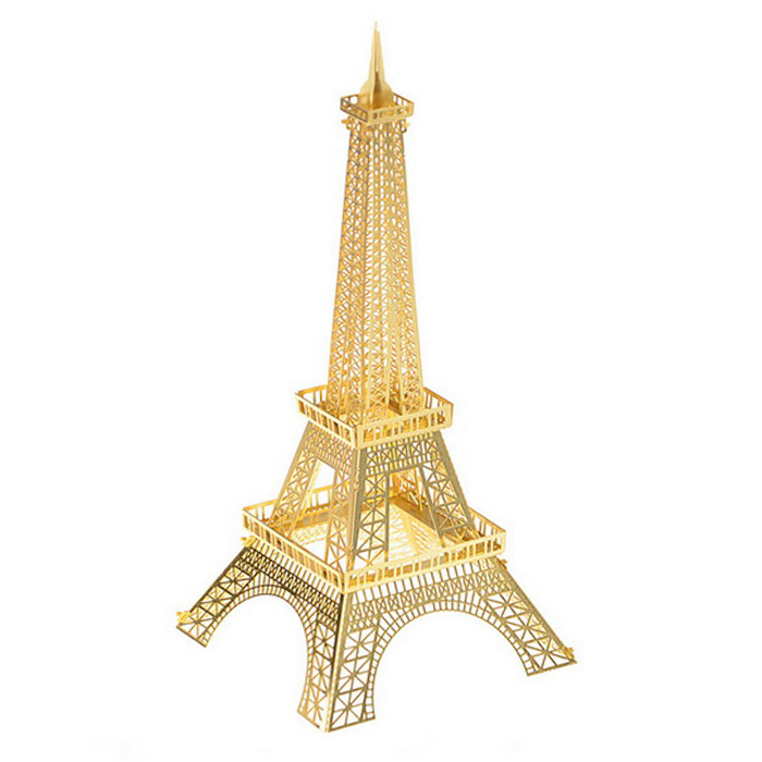 3D Three-Dimensional DIY Assembly Model of Eiffel Tower