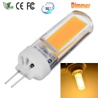 JRLED G4 Dimmable 5W 350lm 25-COB LED Warm White Light Ceramic Bulb