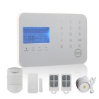 Touch Keypad GSM & PSTN Dual Network Alarm System - White (US Plug)