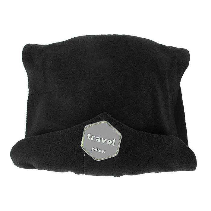 Ultra-soft Neck Support Pillow / Napping Pillow - Black
