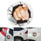 ZIQIAO 3D Finger Thriller Style Car Trunk / Window Sticker Decal