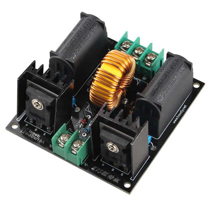 DIY ZVS Tesla Coil Power Supply Boost Voltage Generator Drive Board