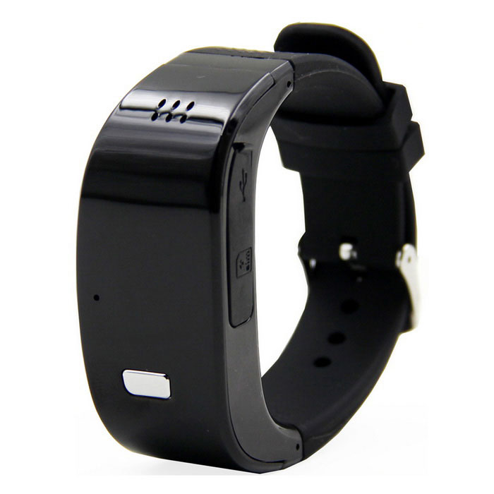 G29 GSM Smart Bracele MD for GPS Tracker Seeker / SOS Alarm - Black