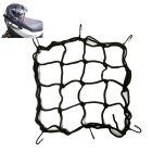 ZIQIAO Motorcycle Luggage Cargo Bungee Net Bag Mesh Storage Bag -Black