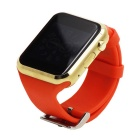 GD19 Bluetooth Smart Watch w/ Camera Screen for Android iOS - Red+Glod