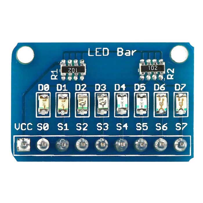 8x LED Bar Marquee LED Display Módulo w / 4 tipos de cores para Arduino