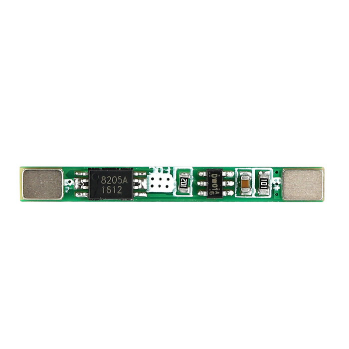 3.7V / 1A Single 18650 Lithium Battery Protection Board Module - Green