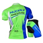 NUCKILY Mountain Bike Summer Short Sleeve Jersey + Short Pants Suit