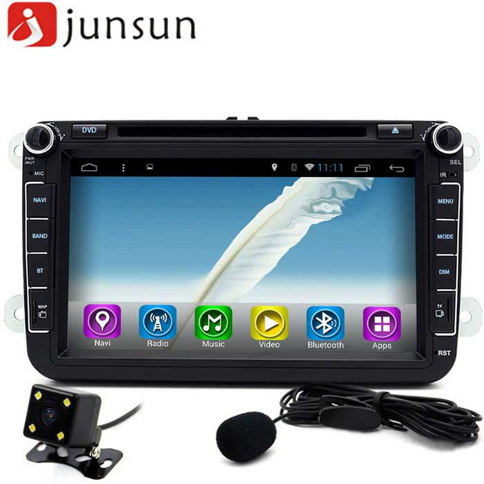 "Junsun R168-D 8 ""Touch Quad-Core 1024 * 600 coches reproductor de DVD w / webcam"