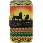 SZKINSTON Hakuna Matata Pattern Case for iPhone 6 Plus / 6S Plus