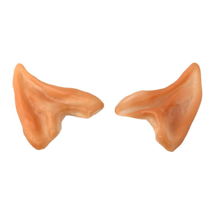 Oreilles Cosplay Elf Style de latex Activités Dress Up Prop - Light Beige