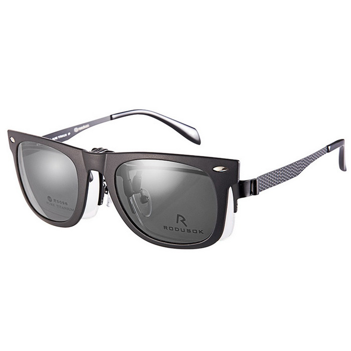 Reedoon 2140 Clip-on Protection Glasses Clip - Matte Black + Gay