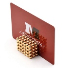 Magnetic Buckyballs ABS Cutting Card - Red