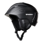 MOON MS-92 Cycling One-Piece PC + EPS Bike Helmet - Black (L)