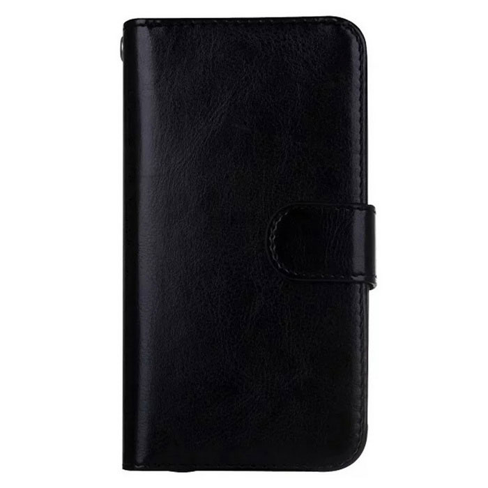 2-in-1 9 Cards Slots Leather Case for Samsung Galaxy S7 - Black