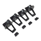 Plastic Rodeo 150 Spare Parts Skid desembarques (4 PCS)