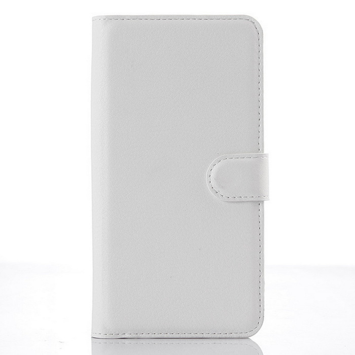 Lychee Pattern Flip-Open PU Case for ZTE BLADE S6 Plus - WhiteLeather Cases<br>Form  ColorWhiteModel001MaterialPUQuantity1 DX.PCM.Model.AttributeModel.UnitShade Of ColorWhiteCompatible ModelsZTE BLADE S6 plusFeaturesAnti-slip,Dust-proof,Abrasion resistance,Easy-to-remove,Holder functionPacking List1*Case<br>