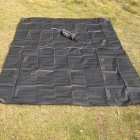 AoTu AT6211 Outdoor Oxford Tecido Picnic Mat - Preto (210 * 150 centímetros)